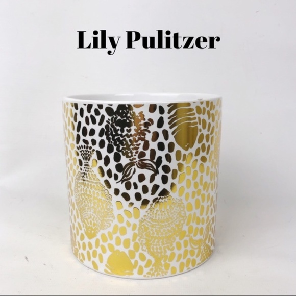Lilly Pulitzer Other - Lily Pulitzer 5x5 Round Vase